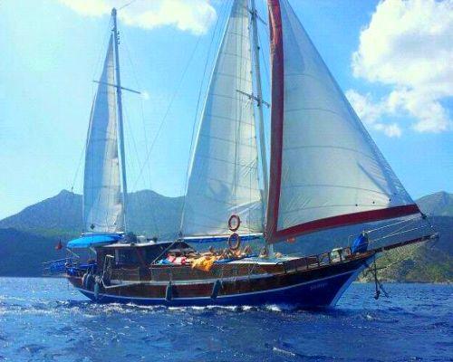 ZEILVAKANTIE TURKIJE zonnigzeilen zeilen griekenland blue cruise  (26)