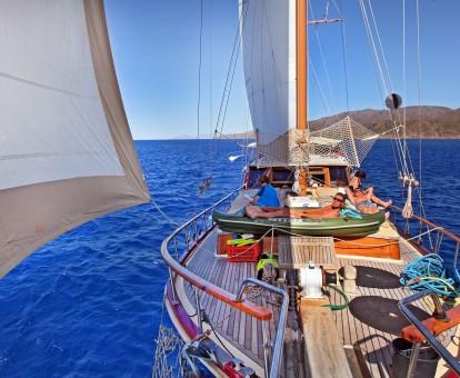 zeilvakantie zeilen blue cruise Turkije Griekenland (151)