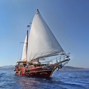zeilvakantie zeilen blue cruise Turkije Griekenland (177)