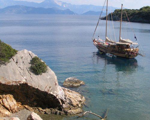 zeilvakantie zeilen blue cruise Turkije Griekenland (191)