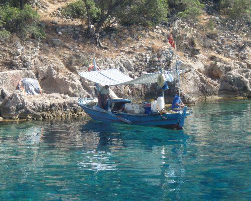zeilvakantie zeilen blue cruise Turkije Griekenland (219)