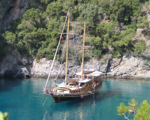 zeilvakantie zeilen blue cruise Turkije Griekenland (222)