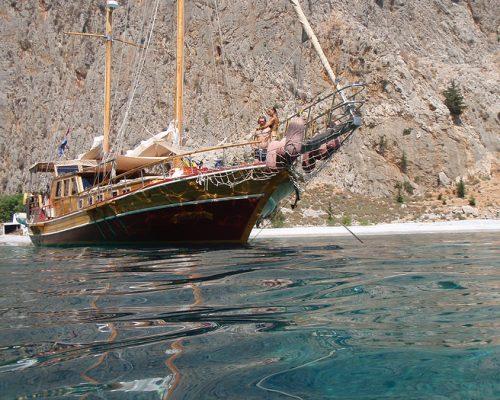 zeilvakantie zeilen blue cruise Turkije Griekenland (237)