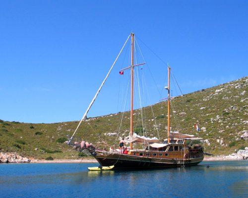zeilvakantie zeilen blue cruise Turkije Griekenland (239)