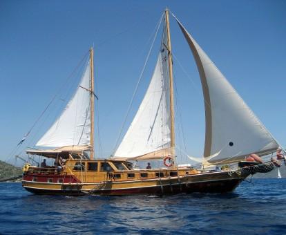 zeilvakantie zeilen blue cruise Turkije Griekenland (292)