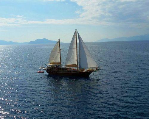 zeilvakantie zeilen blue cruise Turkije Griekenland (30)