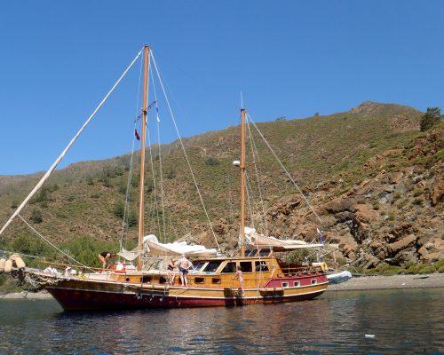 zeilvakantie zeilen blue cruise Turkije Griekenland (302)
