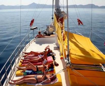 zeilvakantie zeilen blue cruise Turkije Griekenland (309)
