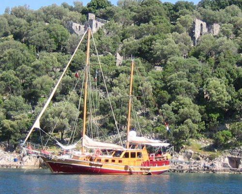zeilvakantie zeilen blue cruise Turkije Griekenland (69)