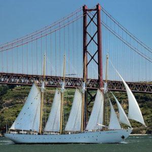 tall ship santa maria manuela zonnigzeilen (4)